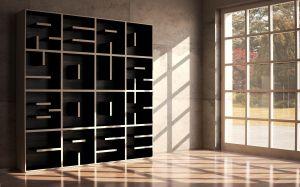 Saporiti's ABC Bookcase