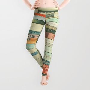 Cassia Beck's Bookish Leggings