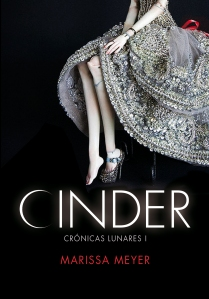 Marissa Meyer Spain Cinder Cover