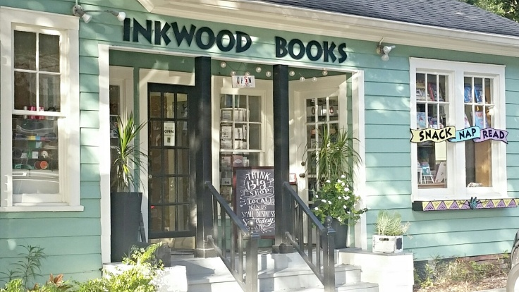 inkwood. yawednesday. exterior. shop local