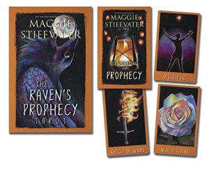 The Raven's Prophecy Tarot Cards Designed by Maggie Stiefvater