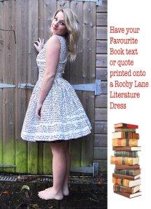 Custom Book Dress