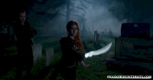 Episode 3 Clary and Seraph Blad