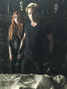 Jace and Clary Shadowhunters