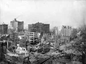 1906 San Francisco Earthquake Ruins