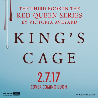 King's Cage Title Reveal by Victoria Aveyard