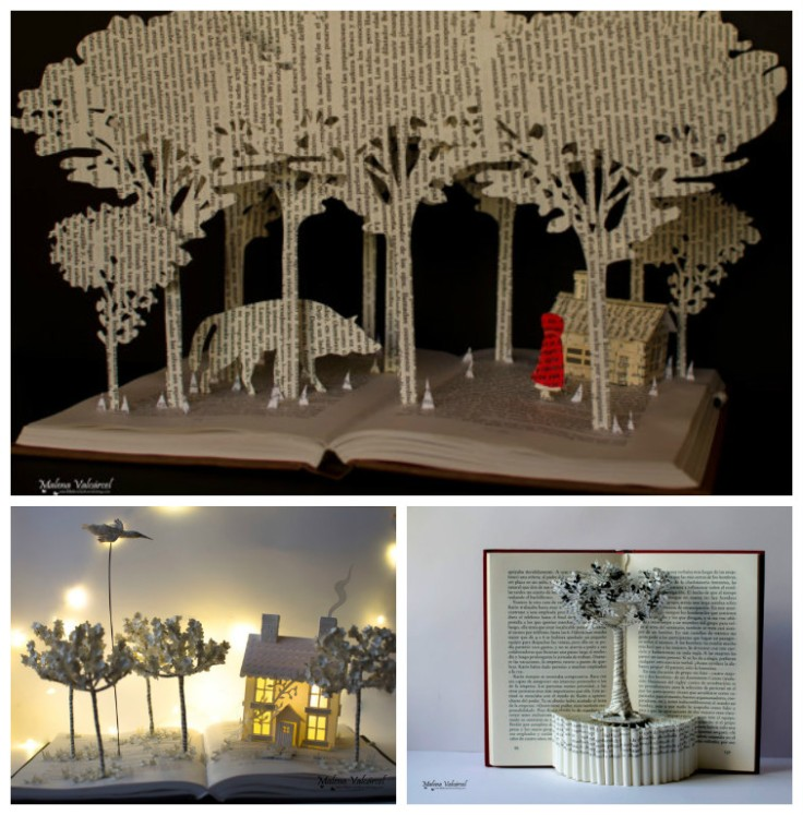 book-paper-sculpture