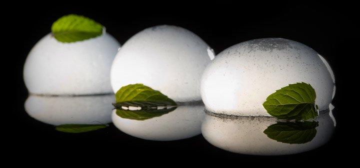 Carbonated Mojito Sphere