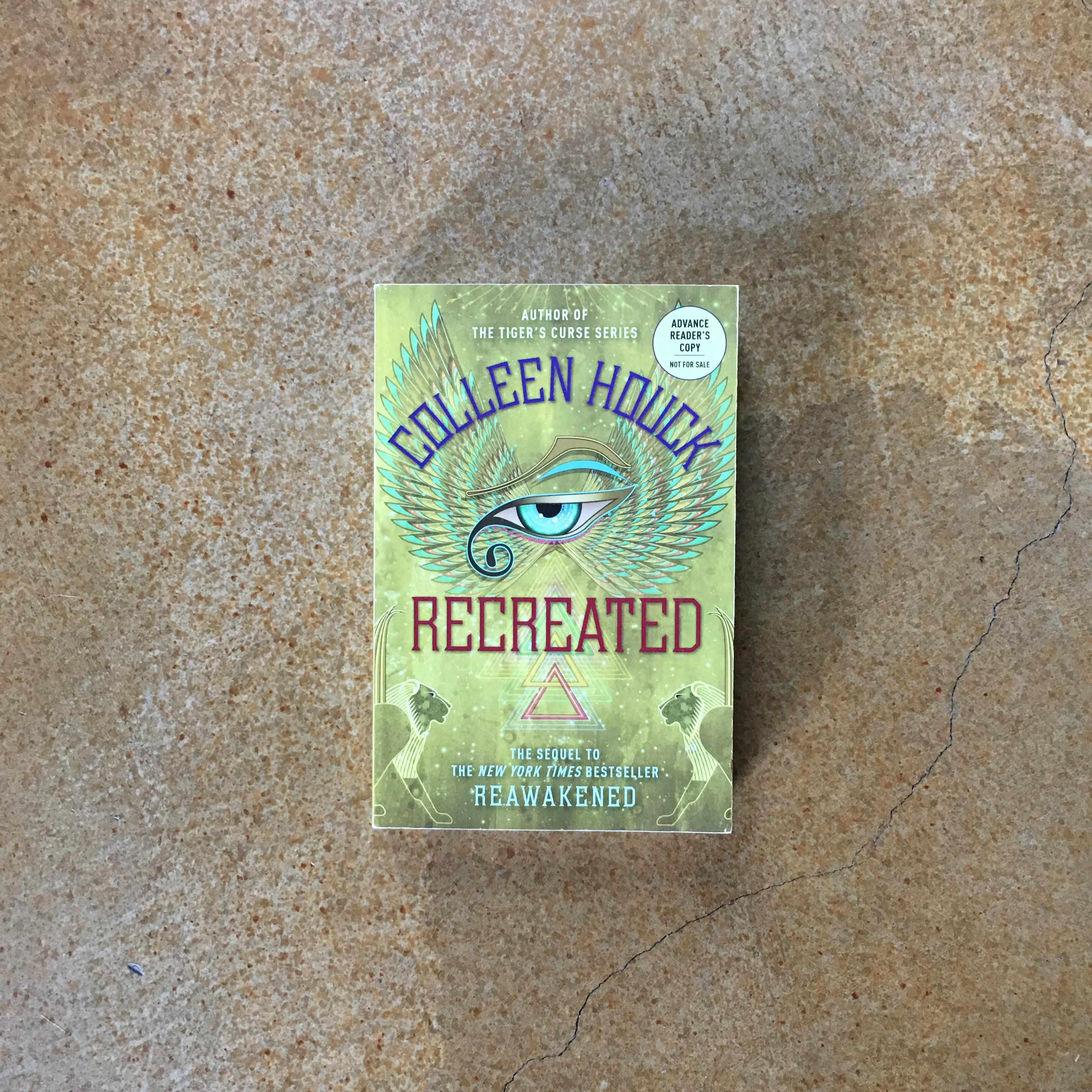 Prize #5: An ARC of Recreated by Colleen Houck