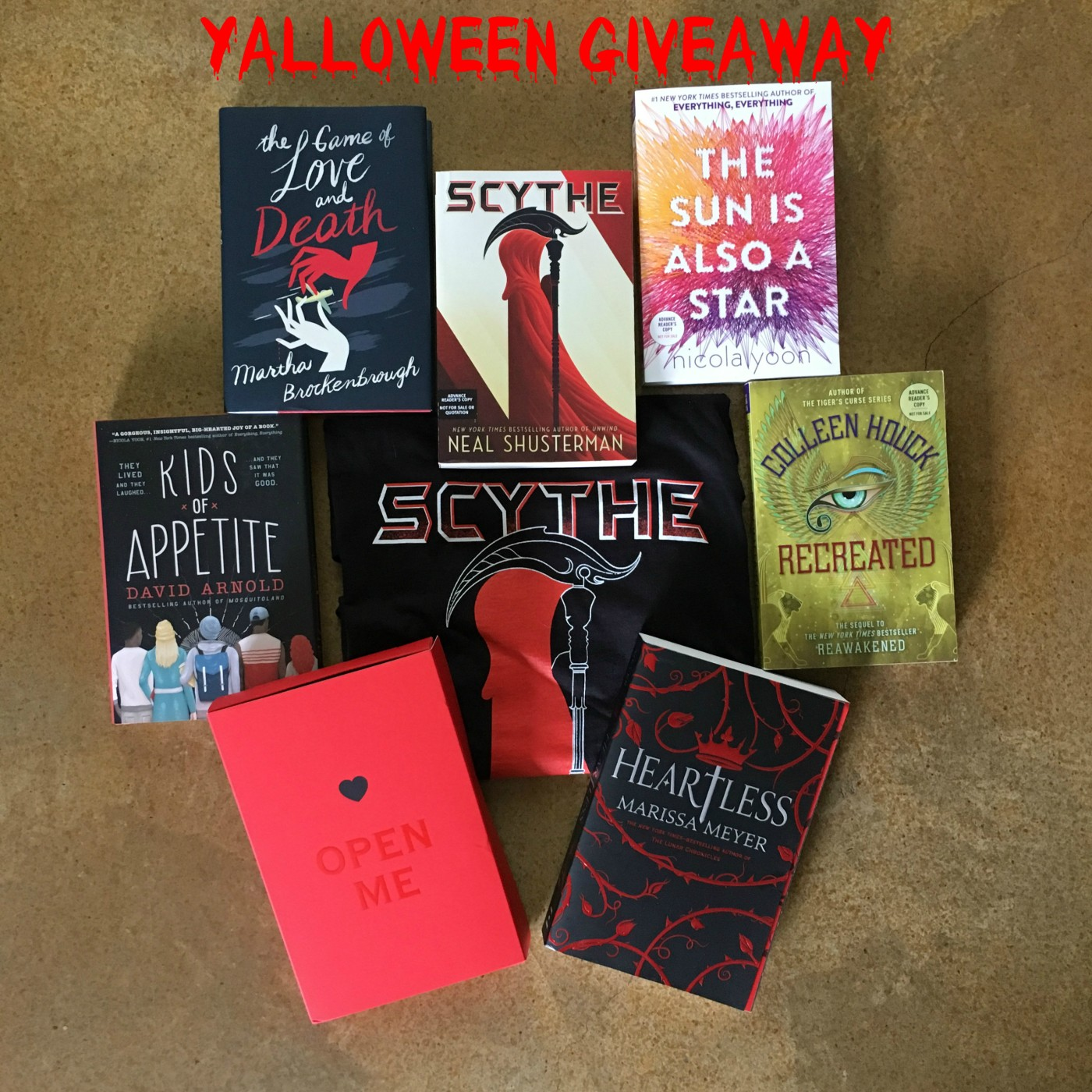 PLEASE CHECK OUR GIVEAWAYS TAB FOR ACTIVE CONTESTS. What do you get when  your Halloween cosplay is inspired by your favorite YA novel? YALLOWEEN!