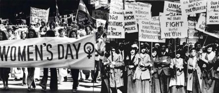 womens day then now