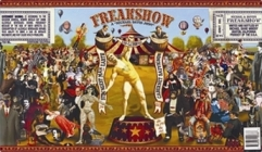FreakShow Wine Label #1